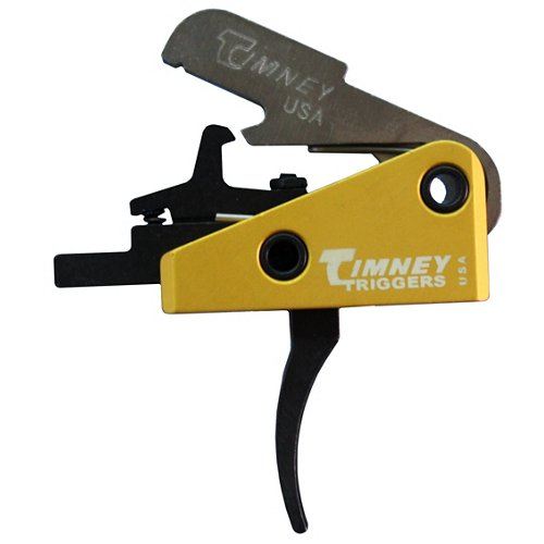 Timney Triggers AR-15 Single-Stage Curved Competition Solid Trigger