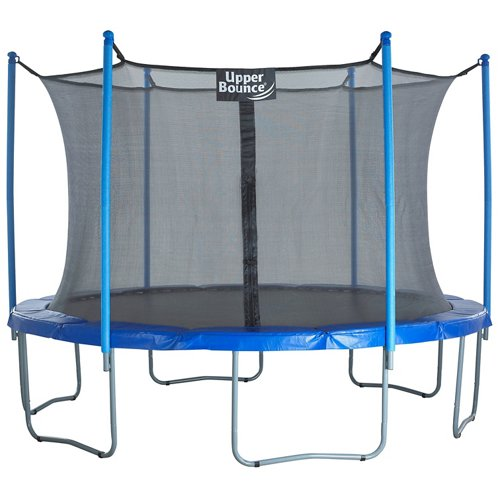 Upper Bounce® 14' Round Trampoline with Enclosure