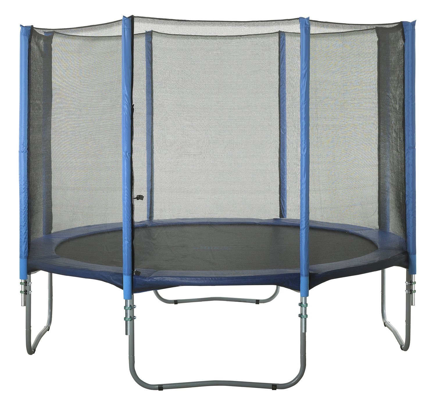 Upper Bounce® 8-Pole Trampoline Enclosure Set for 14' Round Frames with 4 or 8 W-Shape Legs - view number 5