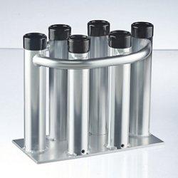 H2O XPRESS Heavy-Duty Aluminum 6-Rod Floor Stand