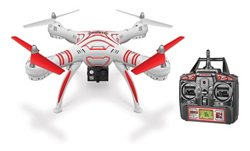 World Tech Toys Wraith Spy Drone 1080p HD Picture/Video Camera RC Quadcopter