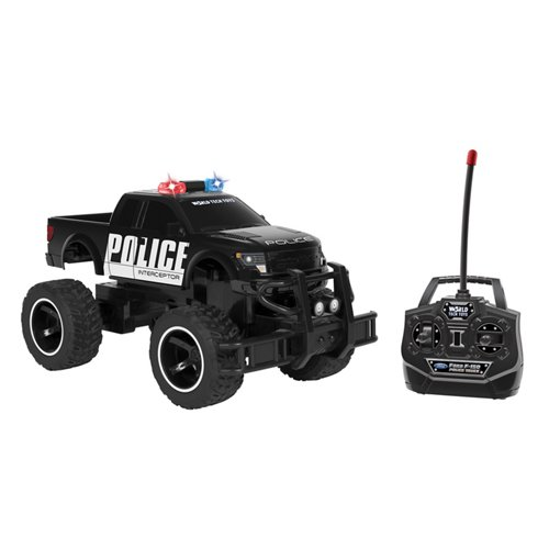 World Tech Toys Ford 150 SVT Raptor Police 1:14 RC Truck