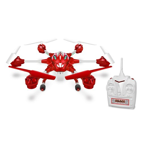 World Tech Toys Nano Alpha Picture/Video Camera Spy Drone Quadcopter