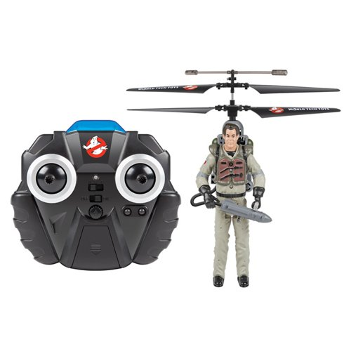 World Tech Toys Ghostbusters Ray Stantz RC Helicopter