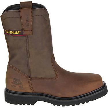 Cat Footwear Mens Hudson Eh Steel Toe Wellington Work Boots