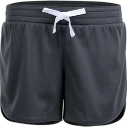 Girls' Thin Piped 3 in Basketball Short