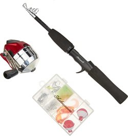 "Shakespeare® 4'6"" L Complete Telescopic Spincast Fishing Kit"