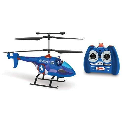 World Tech Toys Marvel Captain America RC Helicopter with Figure