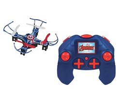 World Tech Toys Marvel Avengers Captain America Micro Drone RC Quadcopter