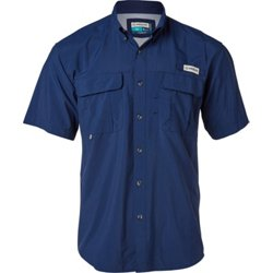 Men's Laguna Madre Solid Short Sleeve Fishing Shirt