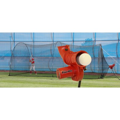 226248b073e97 Heater Sports Power Alley 11 in Softball Pitching Machine and Power ...