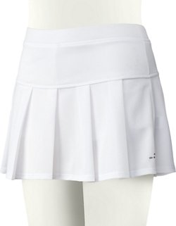 Girls' Basic Moisture Wicking Pleated Tennis Skort