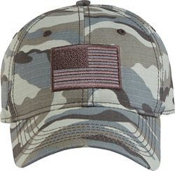 Academy Sports + Outdoors Men's Americana Camo Twill Hat