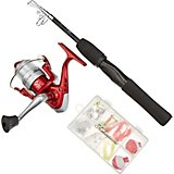 "Shakespeare® 4'6"" L Telescopic Spinning Rod and Reel Combo"