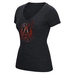 adidas Women's Atlanta United FC War Paint V-neck T-shirt