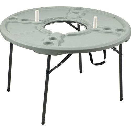 Academy Sports + Outdoors 4 ft Round Folding Cookout Table