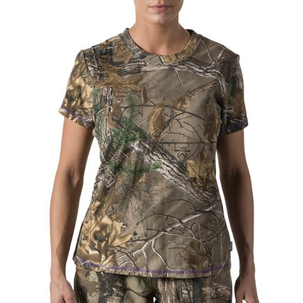 a24487d2 ... Walls Women's Camo Short Sleeve T-shirt. Camo Shirts. view number 1  view number 2. Hover/Click to enlarge