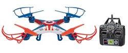 World Tech Toys Marvel Captain America Sky Hero 2.4 GHz 4.5 Channel RC Drone