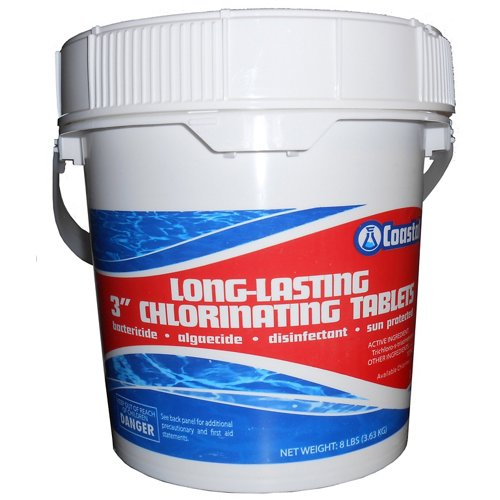 Coastal Long-Lasting 3' 8 lb. Chlorinating Tablets