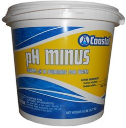 Coastal 5 lb. pH Minus Acidity Increaser