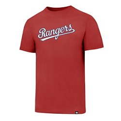 Texas Rangers Script Club T-shirt