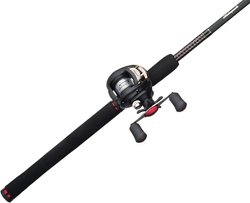 "Ugly Stik® GX2™ 6'6"" M Baitcast Rod and Reel Combo"