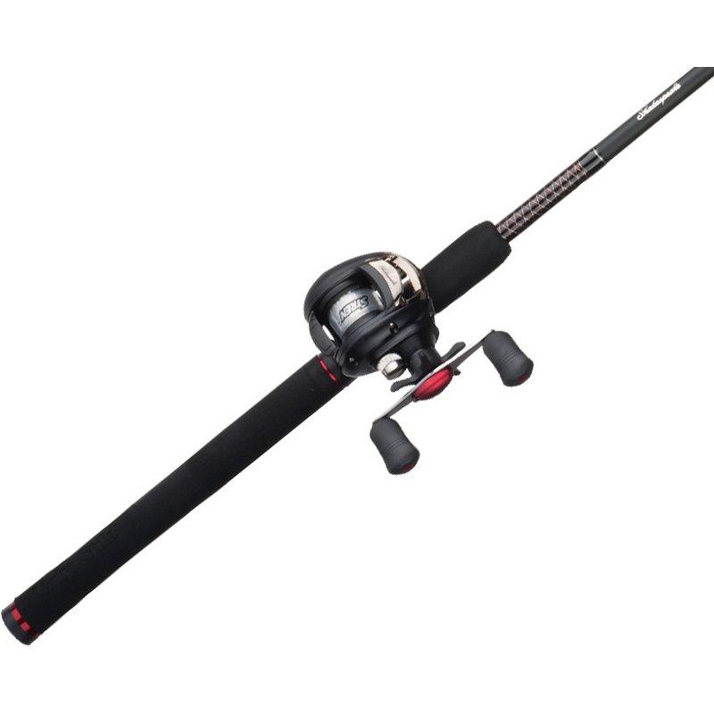 Ugly Stik GX2 6'6″ M Baitcast Rod and Reel Combo Black – Fishing Combos, Baitcast Combos at Academy Sports