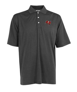 Antigua Men's Tampa Bay Buccaneers Exceed Polo Shirt
