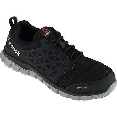 Reebok Men's Sublite Cushion EH Alloy Toe Lace Up Work Shoes
