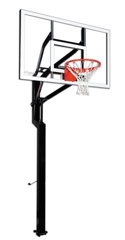 Signature Series All-American 60 in Inground Tempered-Glass Basketball Hoop