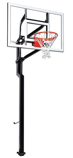 Signature Series Contender 54 in Inground Tempered-Glass Basketball Hoop