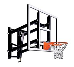 Goalsetter 60 in Wall Mounted Tempered-Glass Basketball Hoop