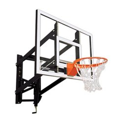 Goalsetter 54 in Wall Mounted Tempered-Glass Basketball Hoop
