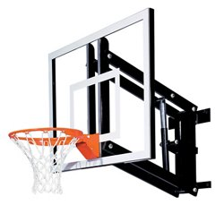 Goalsetter 48 in Wall Mounted Tempered-Glass Basketball Hoop