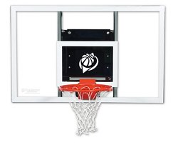 Goalsetter Baseline 60 in Wall Mounted Tempered-Glass Basketball Hoop