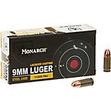 Monarch® FMJ 9 mm Luger 115-Grain Pistol Ammunition