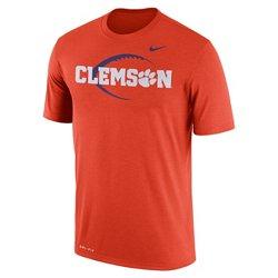 Nike Men's Clemson University Dri-FIT Legend Icon 17 T-shirt