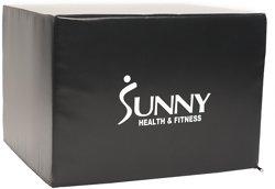 Sunny Health & Fitness 3-in-1 Foam Plyo Box