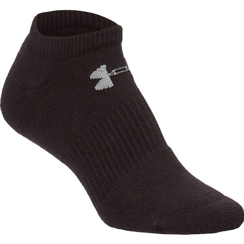 Under Armour Charged Cotton 2.0 No-Show Socks 6 Pack