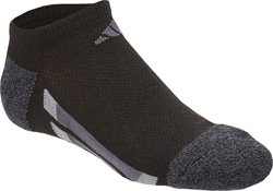 adidas Kids' Vertical Stripe Low Cut Socks 6 Pack