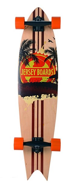 Jersey Boards Sunset Swallowtail 40 in Longboard
