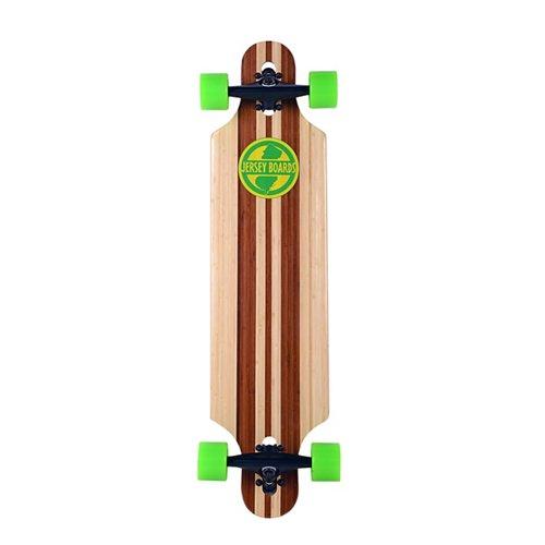 Jersey Boards 36 in Bamboo Drop-Through Skateboard