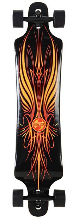 Jersey Boards Pinstripe Drop-Down 42 in Longboard