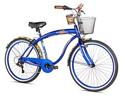 KENT Men's Margaritaville Coast is Clear 26 in 7-Speed Cruiser Bicycle