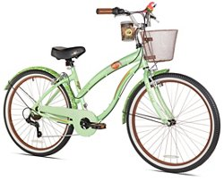 KENT Women's Margaritaville Coast is Clear 26 in 7-Speed Cruiser Bicycle