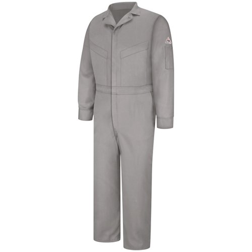 Bulwark Men's Flame Resistant Summer Weight 6 Oz. Coverall