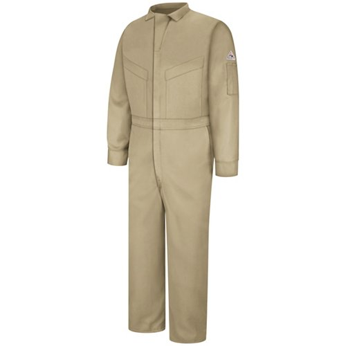 Bulwark Men's Flame Resistant Deluxe 5.8 oz CoolTouch Coverall