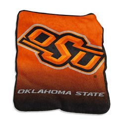 "Logo™ Oklahoma State University 50"" x 60"" Raschel Throw"