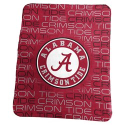 Logo University of Alabama 50 in x 60 in Classic Fleece Blanket