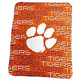 Logo Clemson University 50 in x 60 in Classic Fleece Blanket
